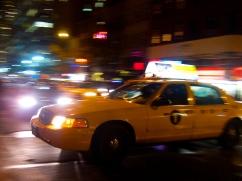 Cab moving